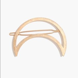 Madewell Accessories - Madewell Crescent Moon Barrette